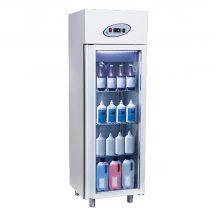 MN4-G   Patikai üvegajtós hűtővitrin