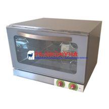 Ferrara forni 4 tálcás légkeveréses sütő, GN 1/1 vagy 600x400