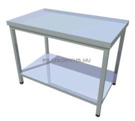Rozsdamentes asztal POLCOS VERZIÓ - VÁLASSZON HOSSZÚSÁGOT A TERMÉKRE KATTINTVA - 600 mm mély