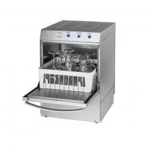 Pohármosogató gép 40×40 mosószer adagolóval