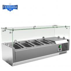 Feltéthűtő 4xGN1/4, 100 cm