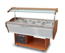 SB-C-TV 120 - Salátahűtő kocsi (felső ventilációs)